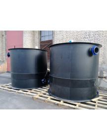 Цилиндрический бак 1 500 литров
