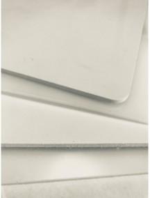 Листовой полиэтилен ПНД 2*1500*3000 Белый-Натуральный