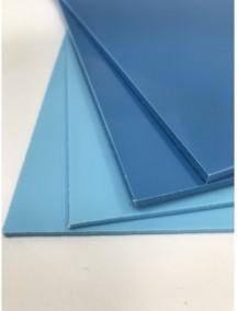 Листовой полипропилен ПП 5*1500*3000  Синий-Голубой