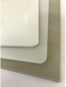 Листовой полипропилен ПП- 10*2000*4000 Белый-Серый-Натуральный