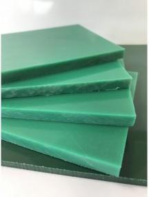 Листовой полиэтилен ПНД 4*2000*3000 Зелёный-Красный