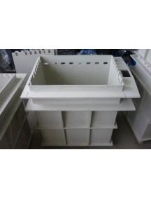 Гальваническая ванна- 1000*1000*1100 т.- 8 мм