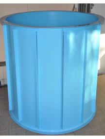 Купель для бани круглая диам. 2,0 м. глубиной 1,5 м. толщ 6 мм