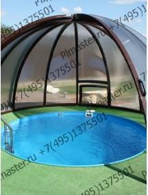 Купель для бани круглая диам. 2,0 м. глубиной 1,5 м. толщ 8 мм