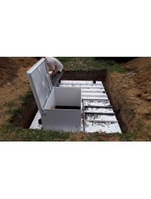 """Погреб для дачи 2,5*2*2 из ПНД- 15 мм """"Премиум"""""""